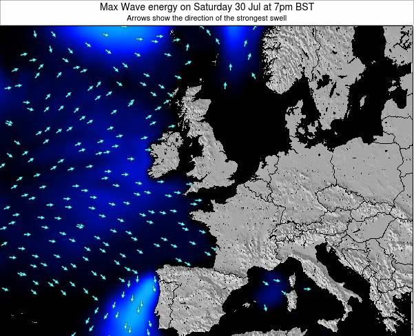 Ireland Max Wave energy on Wednesday 30 Apr at 1am BST
