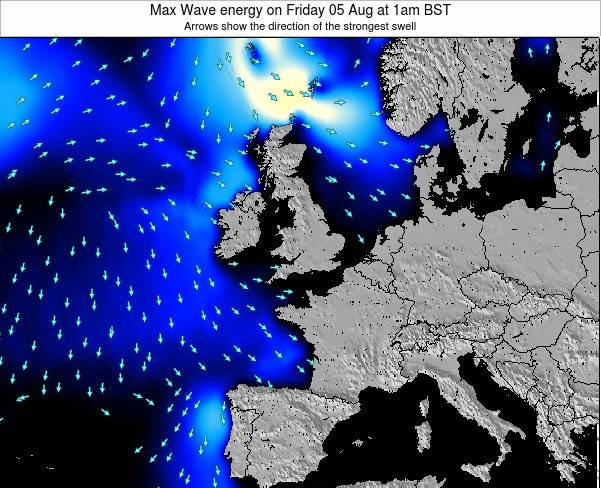 Ireland Max Wave energy on Sunday 26 May at 7pm BST