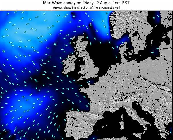 Ireland Max Wave energy on Thursday 12 Mar at 6pm GMT