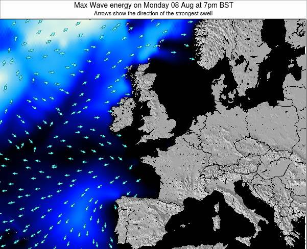 Ireland Max Wave energy on Tuesday 29 Apr at 7pm BST