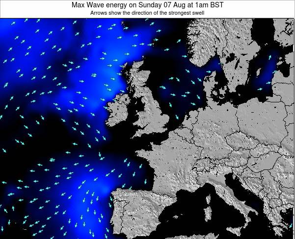 Ireland Max Wave energy on Monday 01 May at 1pm BST