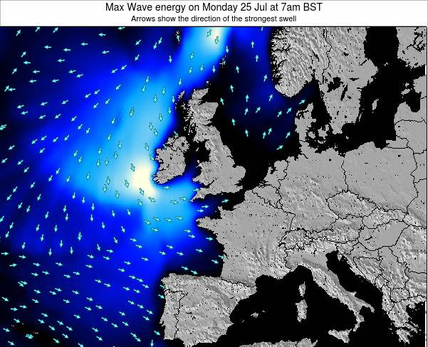 Guernsey Max Wave energy on Thursday 23 May at 7pm BST