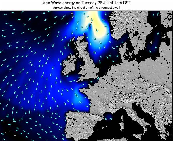 Guernsey Max Wave energy on Saturday 26 Apr at 1pm BST
