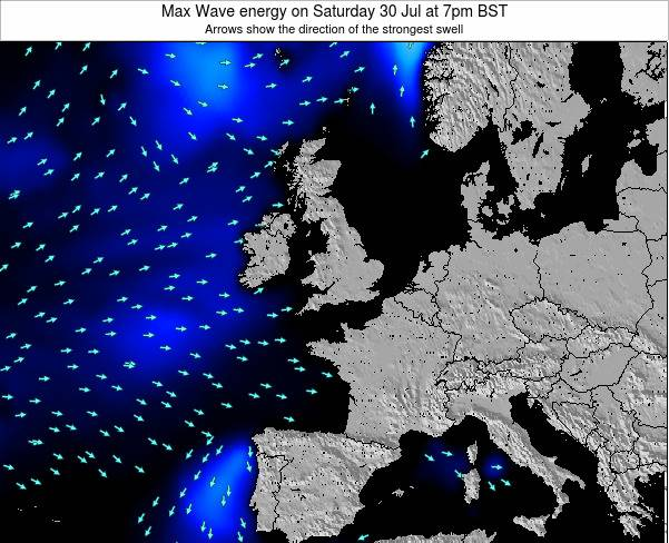 Ireland Max Wave energy on Tuesday 22 Apr at 7am BST