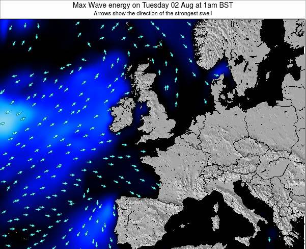 Ireland Max Wave energy on Thursday 13 Mar at 6pm GMT