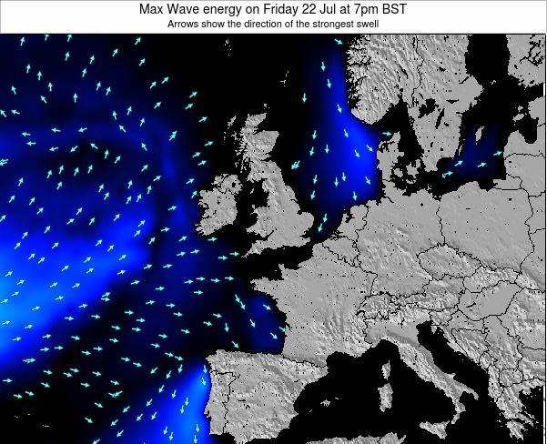 Ireland Max Wave energy on Tuesday 28 May at 1am BST