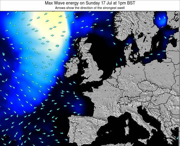 Guernsey Max Wave energy on Wednesday 22 May at 7pm BST