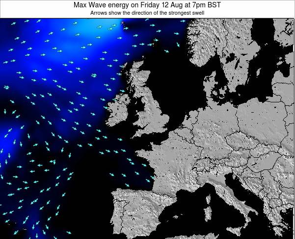 Ireland Max Wave energy on Thursday 27 Nov at 12am GMT