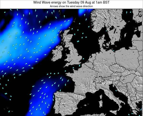 Faroe Islands Wind Wave energy on Friday 29 May at 1am BST
