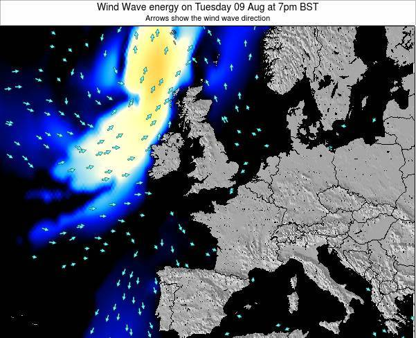Faroe Islands Wind Wave energy on Friday 24 May at 7pm BST