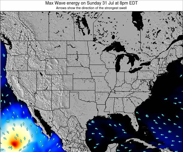 United States Max Wave energy on Monday 01 Dec at 7pm EST