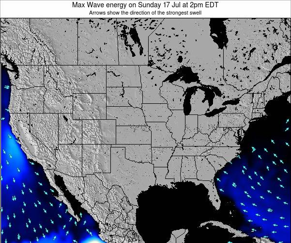 United States Max Wave energy on Monday 29 Aug at 2pm EDT