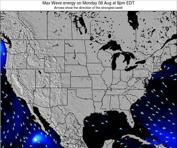 United States Max Wave energy on Sunday 21 Sep at 2am EDT