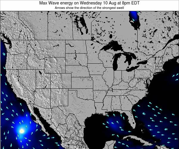 United States Max Wave energy on Monday 21 Apr at 8pm EDT