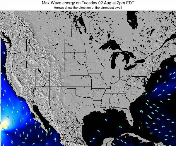 United States Max Wave energy on Saturday 26 Apr at 8pm EDT