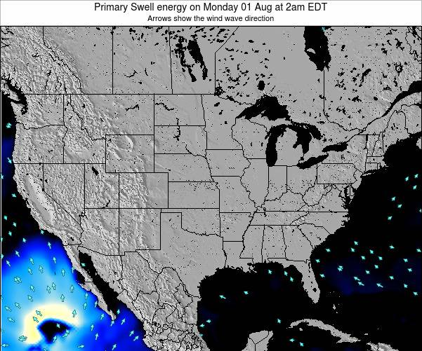 United States Primary Swell energy on Monday 27 May at 8am EDT