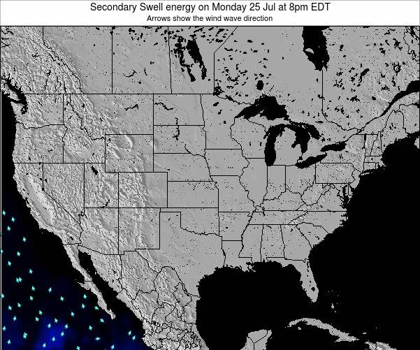 United States Secondary Swell energy on Friday 18 Apr at 8pm EDT