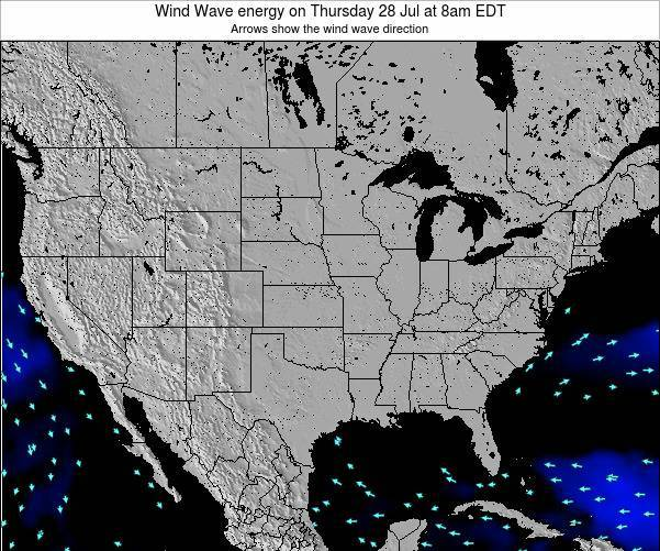 United States Wind Wave energy on Sunday 08 Dec at 7am EST
