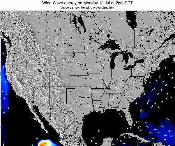 United States Wind Wave energy on Wednesday 30 Jul at 8pm EDT