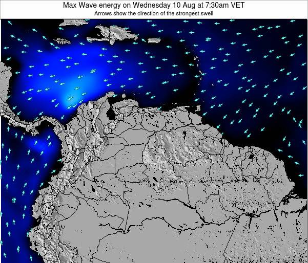 Venezuela Max Wave energy on Tuesday 28 May at 7:30pm VET