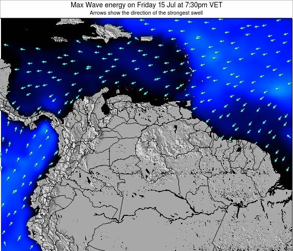 Aruba Max Wave energy on Saturday 25 May at 7:30am VET
