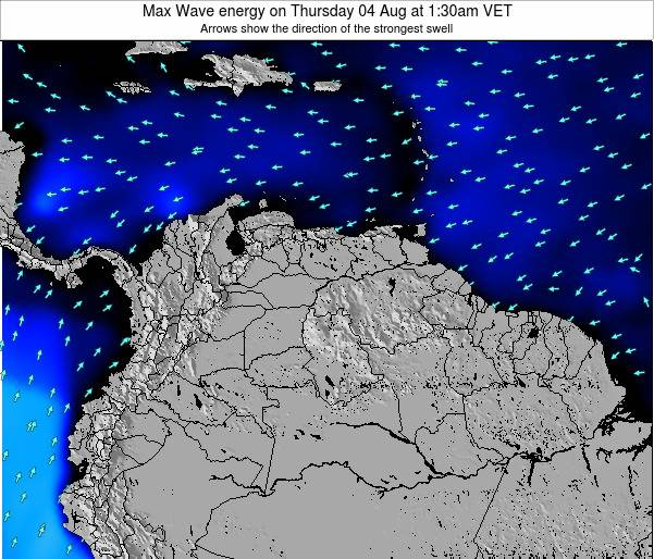 Venezuela Max Wave energy on Wednesday 22 May at 1:30pm VET