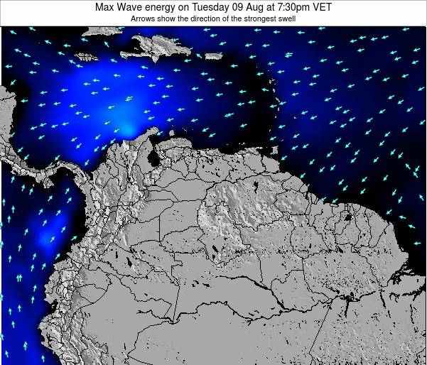 Aruba Max Wave energy on Tuesday 05 Aug at 1:30am VET