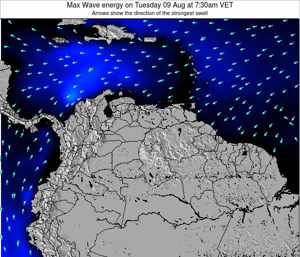 Venezuela Max Wave energy on Saturday 25 May at 7:30pm VET