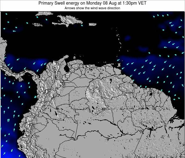Venezuela Primary Swell energy on Sunday 26 May at 7:30pm VET