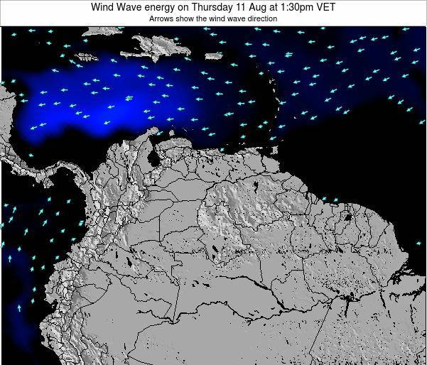Aruba Wind Wave energy on Wednesday 29 May at 1:30am VET
