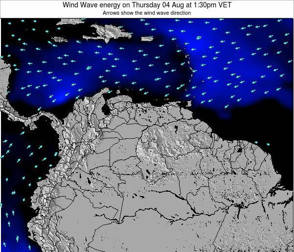 Trinidad and Tobago Wind Wave energy on Thursday 23 May at 7:30pm VET