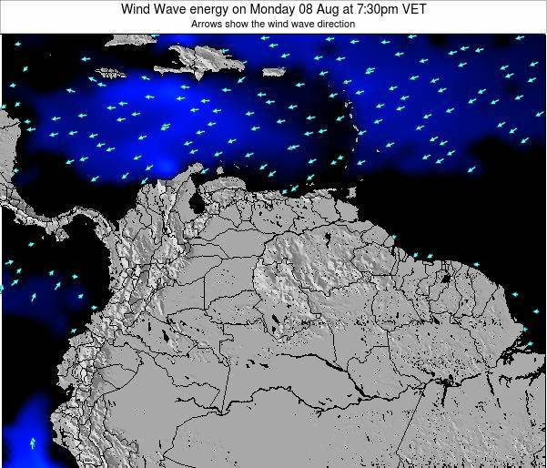 Venezuela Wind Wave energy on Friday 24 May at 7:30pm VET