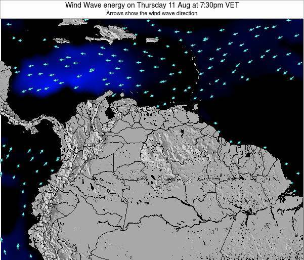 Venezuela Wind Wave energy on Tuesday 28 May at 7:30pm VET