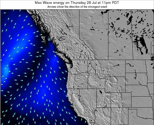 Washington Max Wave energy on Thursday 30 May at 11am PDT