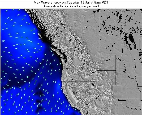 Washington Max Wave energy on Sunday 24 Aug at 11am PDT