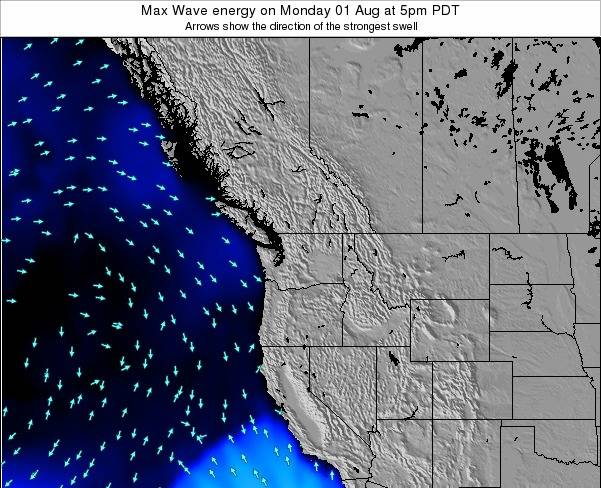 Washington Max Wave energy on Friday 24 May at 5pm PDT