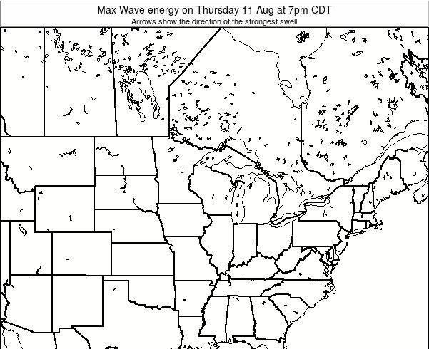 Minnesota Max Wave energy on Sunday 30 Nov at 6pm CST