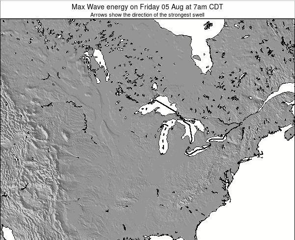 Minnesota Max Wave energy on Friday 24 May at 1am CDT