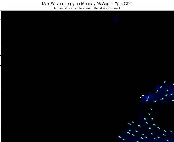 Minnesota Max Wave energy on Saturday 06 Feb at 6pm CST