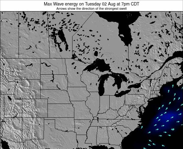 Minnesota Max Wave energy on Thursday 17 Apr at 1pm CDT