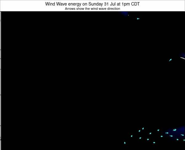 Wisconsin Wind Wave energy on Thursday 05 Dec at 12pm CST