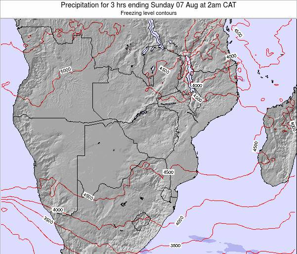 Malawi Precipitation for 3 hrs ending Friday 31 May at 8am CAT map