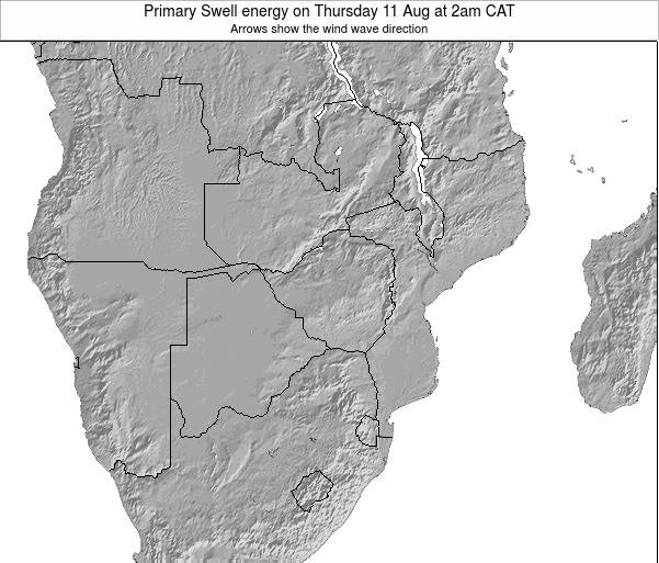 Mozambique Primary Swell energy on Tuesday 29 Apr at 2pm CAT
