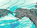 Kodiak Island wind map