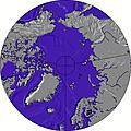 Arctic wave height map