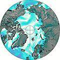 Alaska Mainland wind map