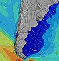 Provincia Rio Negro wave height map