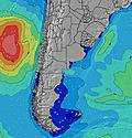 Provincia del Chubut wave height map