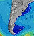 Uruguay wave height map