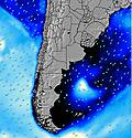 Provincia del Chubut wave energy map